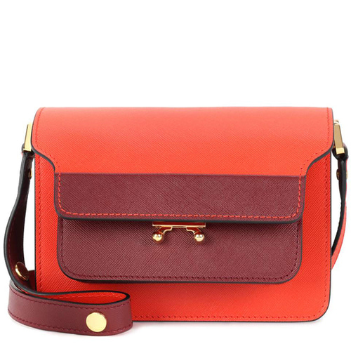 MARNI Trunk Mini leather shoulder bag P00270432 B