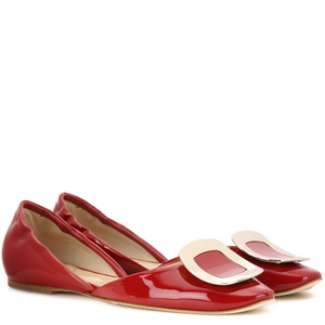 [해외] ROGER VIVIER Chips patent leather