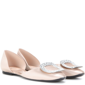 [해외] ROGER VIVIER Chips embellished satin A
