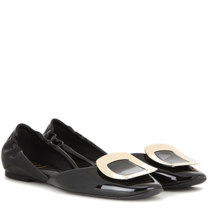 [해외] ROGER VIVIER Patent leather ballerinas A