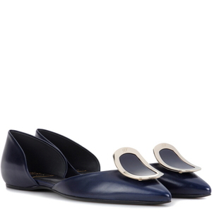 [해외] ROGER VIVIER Flat Chips leather