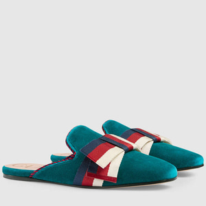 정품 / GUCCI 496561 9FR20 4466 SLIPPER