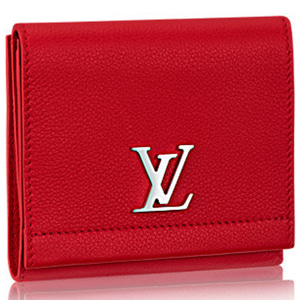 LOUIS VUITTON M64308 Lockme Ii Compact Wallet