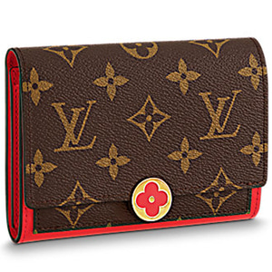 LOUIS VUITTON M64587 Flore Compact Wallet