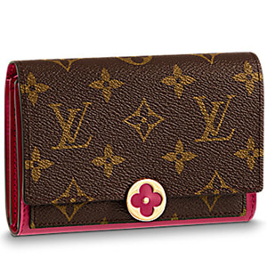LOUIS VUITTON M64588 Flore Compact Wallet