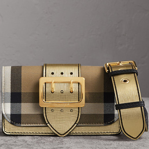 [정품]  버버리 BURBERRY 40259101 SMALL BUCKLE BAG