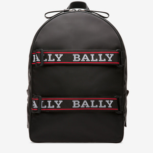 [정품] 발리 / Bally / Flip Backpack in Black  / 피오리토
