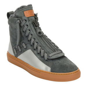 [정품] 발리 BALLY Mens Hekem Fur-Lined Suede High-Top Sneakers  / 피오리토