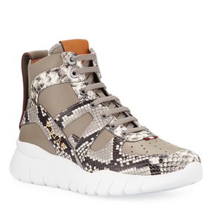 [정품] 발리 BALLY Mens Birko Snake-Trim High-Top Sneakers  / 피오리토