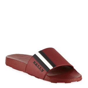 [정품] 발리 BALLY Saxor Rubber Slide Sandal  / 피오리토