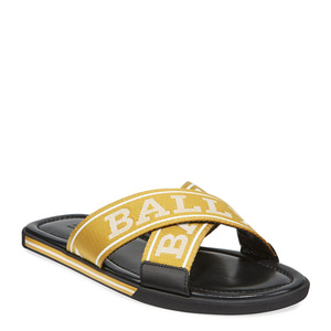 [정품] 발리 BALLY Mens Logo Leather Slide Sandals  / 피오리토