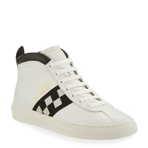 [정품] 발리 BALLY Mens Vita Parcours Retro Lamb Leather High-Top Sneakers  / 피오리토