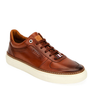 [정품] 발리 BALLY Mens Hens Logo-Embossed Burnished Sneakers  / 피오리토