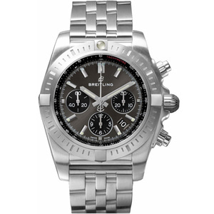 브라이트링 BREITLING AB0115101F1A1 Chronograph 44 steel watch