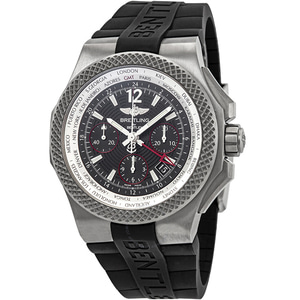 브라이트링 BREITLING EB043335/BD78 Bentley GMT Automatic Black Dial