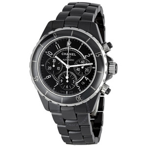 샤넬시계 CHANEL H0940 J12 Black Chrono 41mm
