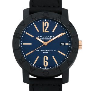 [추가비용없음] 불가리 BVLGARI BP40C3CGLD Automatic 40mm Carbon Gold Roma