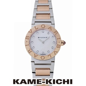[추가비용없음] 불가리 BVLGARI BBL26WSPG/12 Mother of Pearl Dial 18kt Rose Gold
