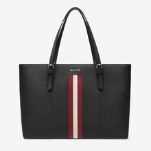 정품 / BALLY SUPRA LARGE tote bag black