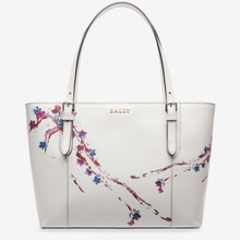 정품 / BALLY SUPRA SMALL tote bag off-white
