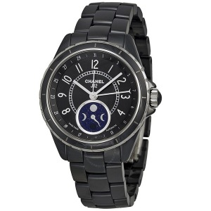 [추가비용없음] 샤넬 시계 CHANEL H3406 J12 Moon Phase CERAMIC 38mm